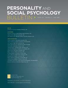Personality and Social Psychology Bulletin